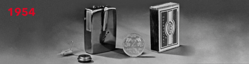 Phonophor Epsilon ważył razem z bateriami około 50 gramów i był rozmiaru