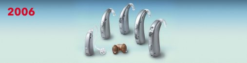 The revolutionary Centra hearing aids were the first anywhere in the world