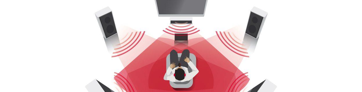 보청기 기능을 시연하고 소리를 체험해볼 수 있는 시그니아 체험존을 위한 특별한 장비입니다.