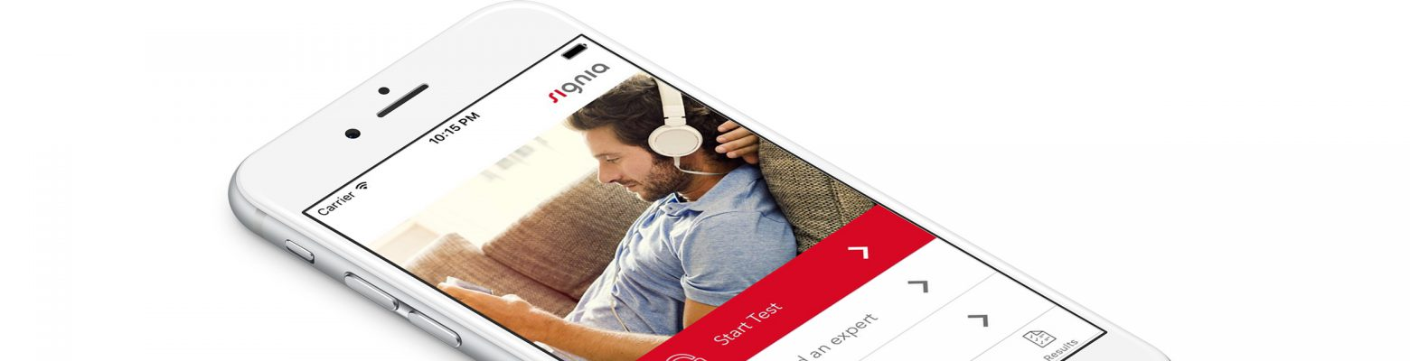 The Signia Hearing Test App helps you determine whether you have hearing impairment. Head to our website to find out more.