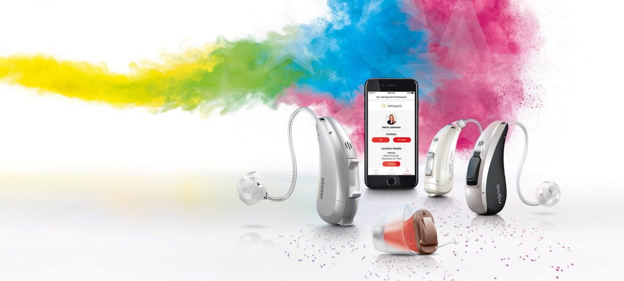 Наш впечатляющий портфель слуховых аппаратов для непревзойденного слуха.