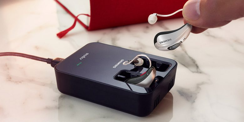 Revolutionary battery-free hearing.