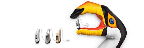 The latest generation of Signia hearing aids with direct audio streaming from