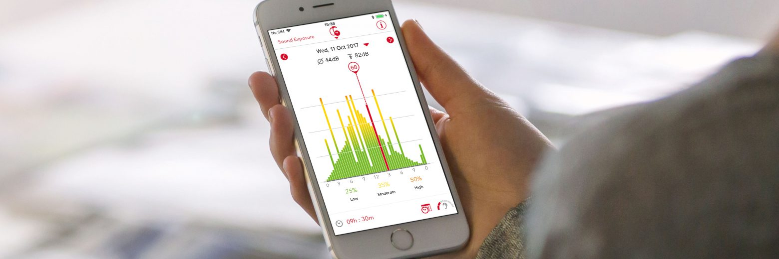 Find out how the myControl App from Signia helps you to monitor the important hearing health indicators of daily noise exposure and voice activity.