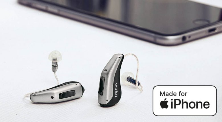 <p>World-class hearing with direct connectivity to iPhone and TV.</p>