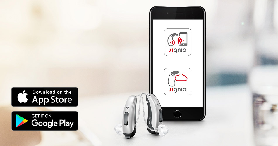The right app can make the functions of hearing aids more accessible, giving the hearing aid user the confidence that comes with convenient control.