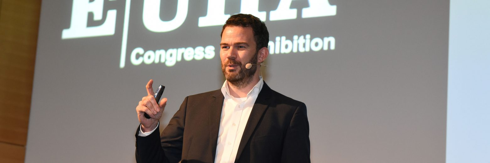 At EUHA 2017, Sebastian Best, Head of R&D Audiology Experts, introduced the latest development in Signia hearing aids with Own Voice Processing (OVP).