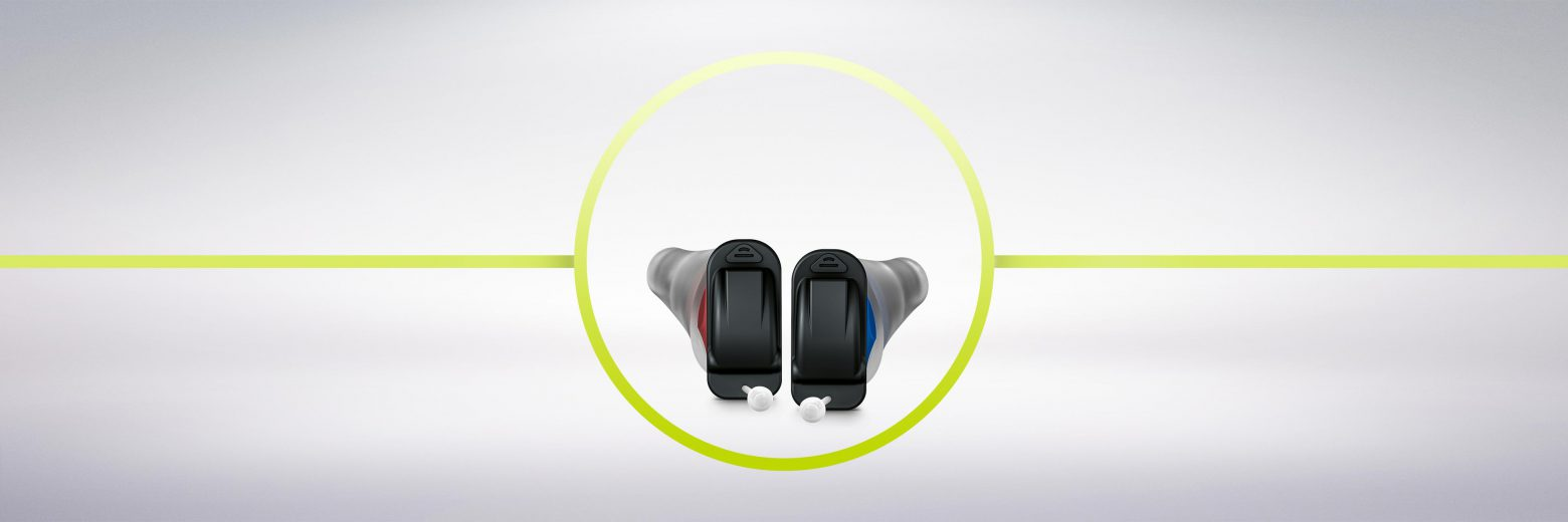 The new CROS Silk Nx supports Signia Nx's most natural hearing experience with highest discretion for people with unaidable hearing loss in one ear. The world's first CROS CIC accessory receives sound on that side and transmits it to a hearing aid on the other side.
