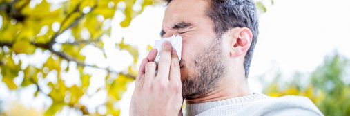 Did you know seasonal allergies can also affect your ears? Itching, swelling,