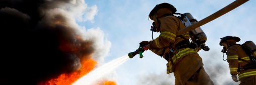 Emergency response personnel like firefighters and police officers put their lives at