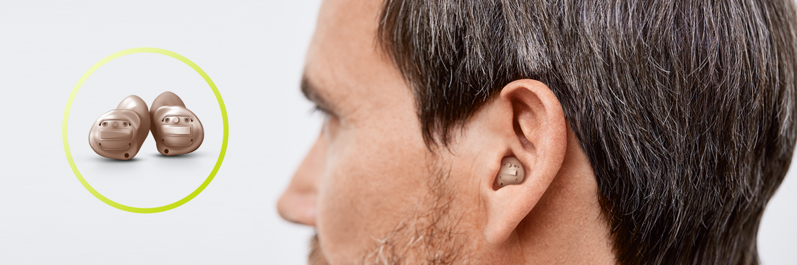 Discover the new Insio from Signia: your custom-made hearing aids with Bluetooth connectivity to stream hands-free phone calls, music, and TV audio.