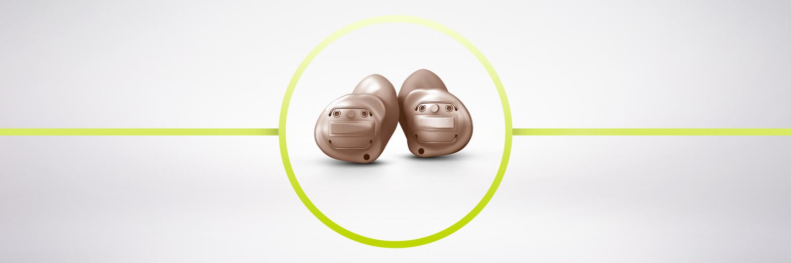 I nuovi modelli endoauricolari Insio Nx ITC e ITE, discreti e versatili, consentono uno streaming diretto di qualità dell'audio TV, musica e telefonate.