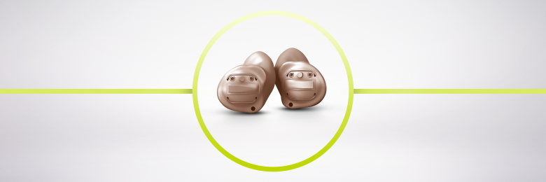 新しいInsio Nx ITC TWIN/ITE TWINは、目立たない耳あな型オーダーメイド補聴器です。テレビ音声、音楽、通話を直接耳に届けるダイレクトストリーミング機能を備えています。