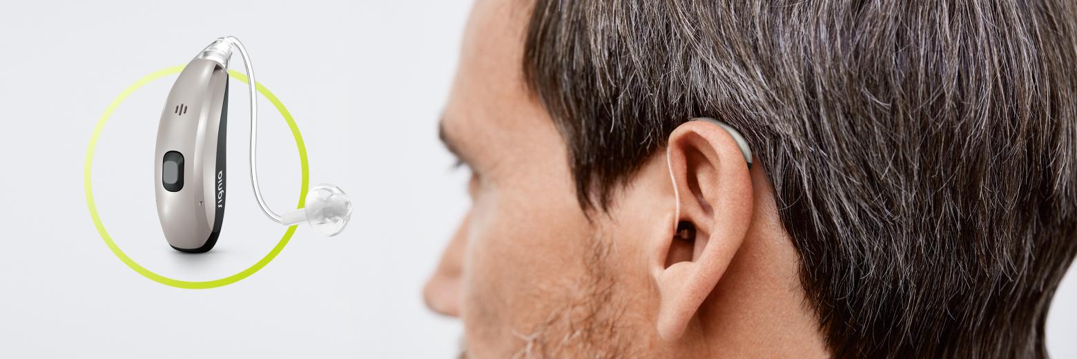 De nya Motion Charge&Go hörapparaterna från Signia ger en naturlig röst och praktisk trådlös laddning i en robust design.
