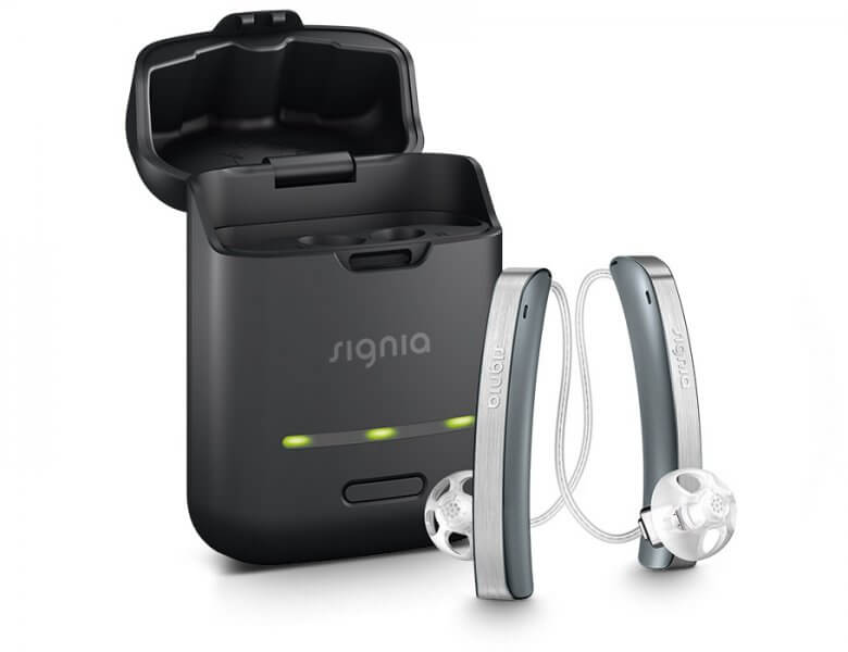 <p>It's not just a hearing aid.<br />It&#8217;s embracing life with stylish high-tech.</p>