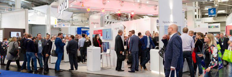 Signia благодарит посетителей своего стенда на конгрессе EUHA 2018 за их внимание