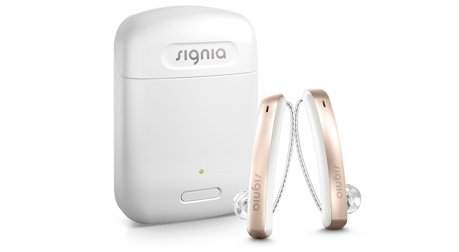 블루투스 연결까지 가능한 충전식 슬림 오픈형 보청기, 듣는 자신감을 더해줍니다.