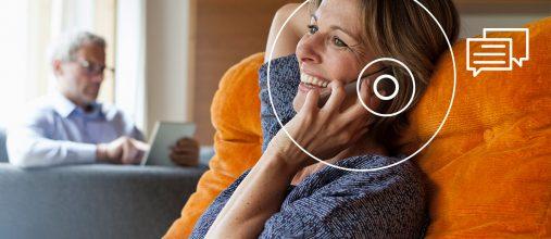 Signia entwickelte TeleCare mit dem Ziel, die Kundenbeziehung zu stärken, die Probezeit