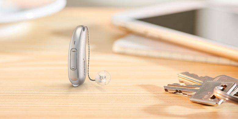 The smallest hearing aids for personalised hearing with direct streaming