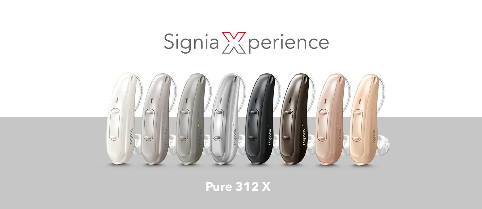 Signia introduces its landmark Pure 312 X based on the revolutionary Signia Xperience. New sound, new look: enjoy Pure 312 X's modern lifestyle design