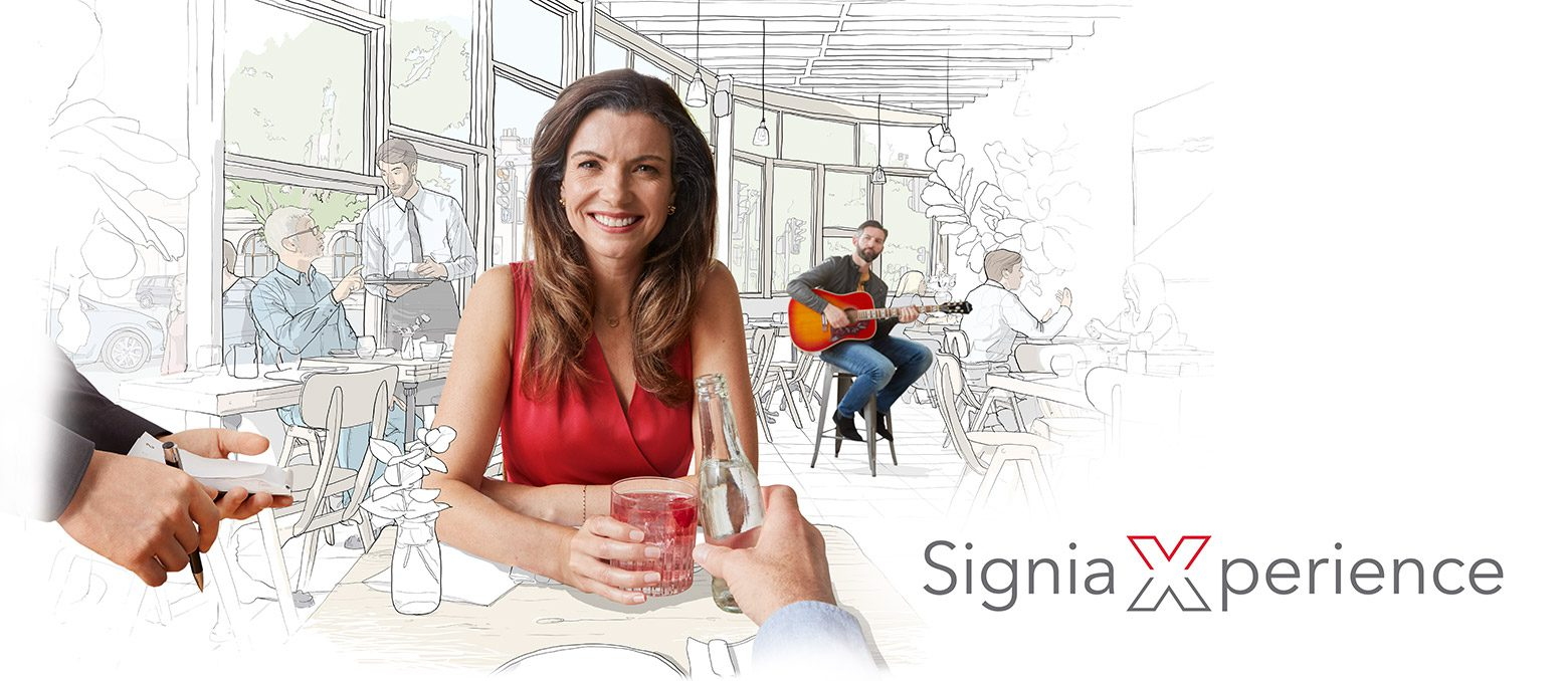 Signia Xperience is the name of our revolutionary new technology platform. It personalizes your hearing aids to understand what really matters, so that you can always hear what matters to you.
