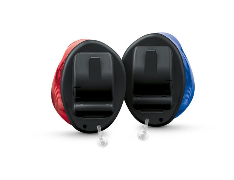 <p>The smallest hearing aids with natural sound quality.</p>