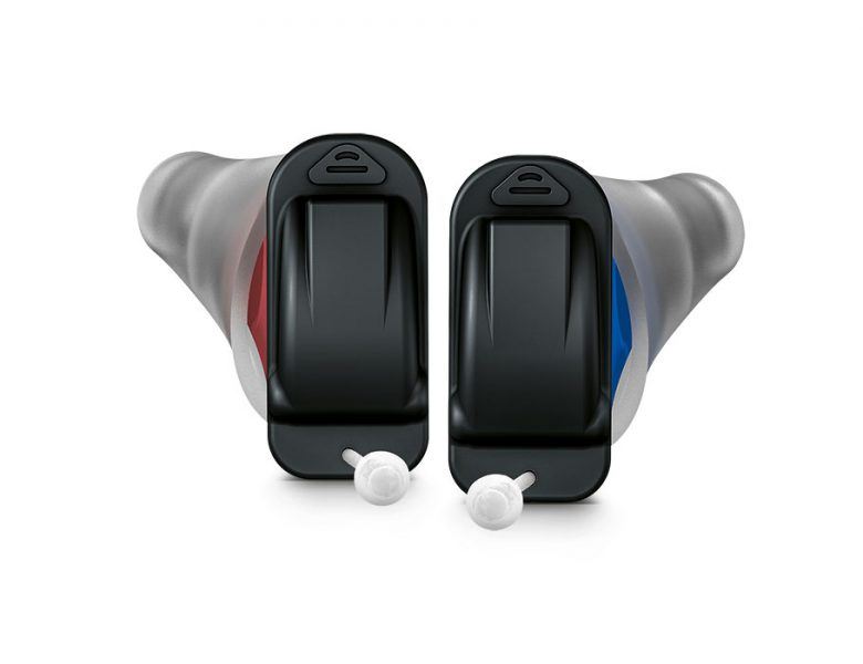 <p>The smallest and most natural sounding ready-to-wear hearing aids.</p>