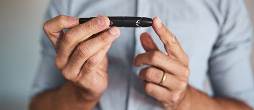 People with diabetes are at a higher risk of developing hearing loss.